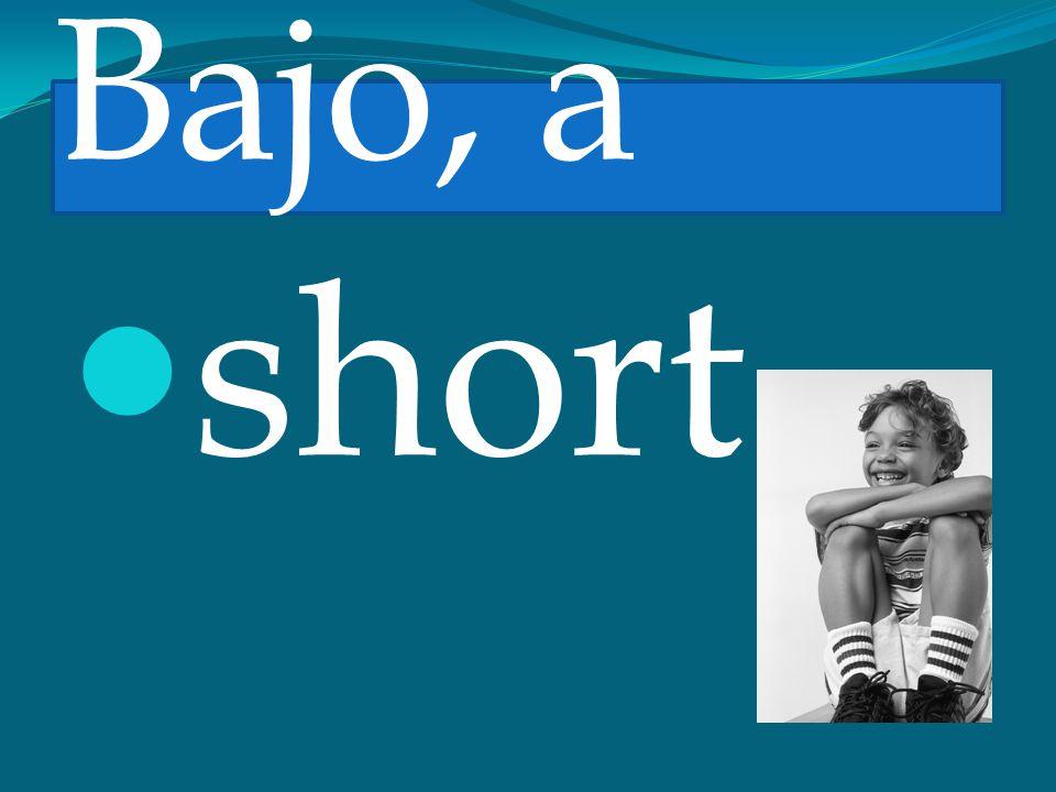 Bajo, a short