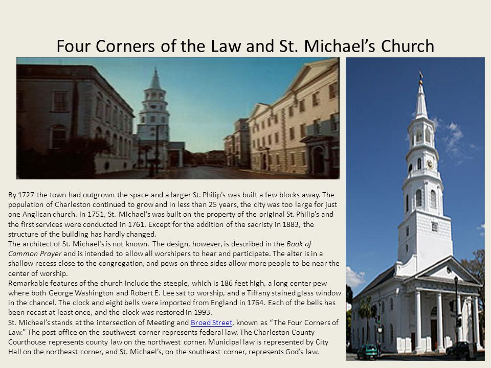 Four Corners of the Law and St.