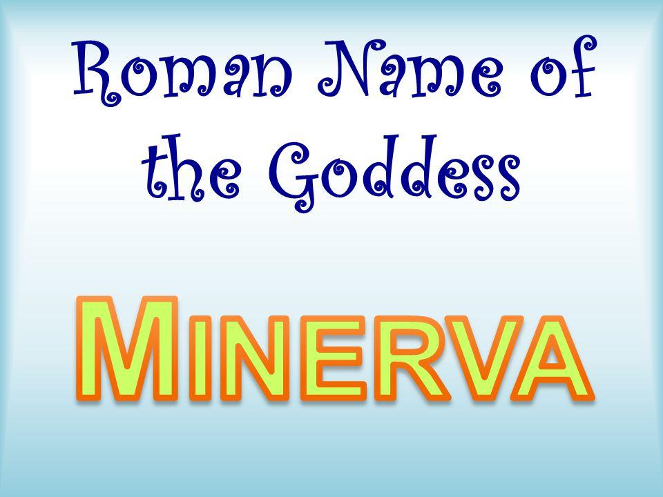 Roman Name of the Goddess