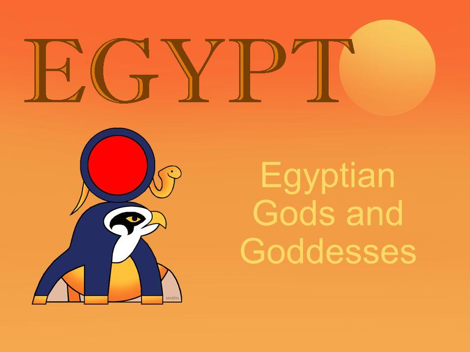 ancient egyption gods and goddesses