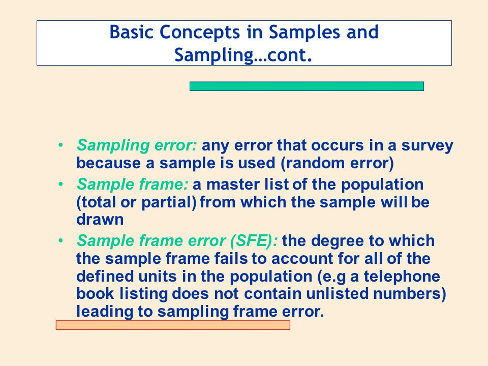 Determining the Sample Plan - ppt download
