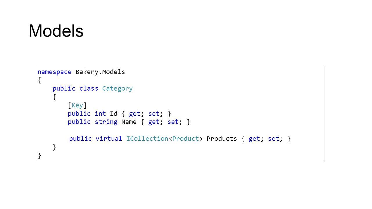 ViewModels public class CustomerViewModel { public Customer Customer { get; set; } public StatesDictionary States { get; set; } public CustomerViewModel(Customer customer) { Customer = customer; States = new StatesDictionary(); }