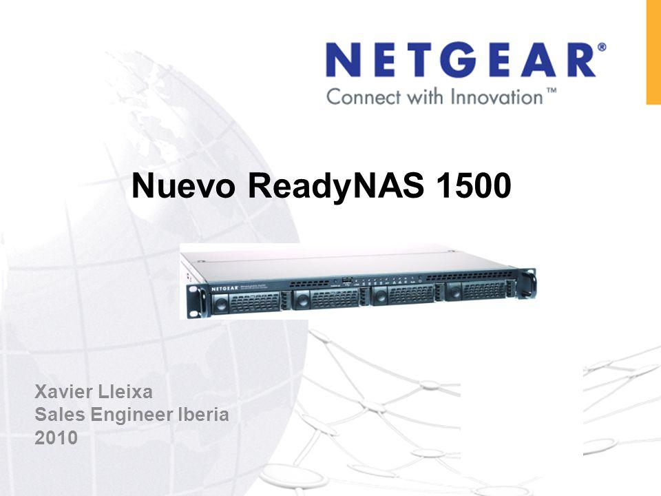 ReadyNAS 1500 AFP NFS CIFS ReadyNAS 1500 Servidor de ficheros