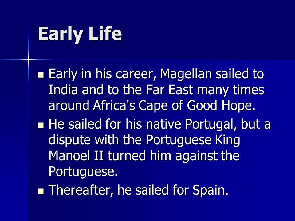 an analysis of ferdinand magellan a portuguese explorer who sailed for spain