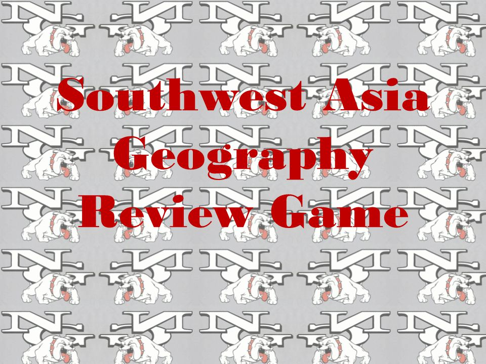 Southwest Asia Geography Review Game