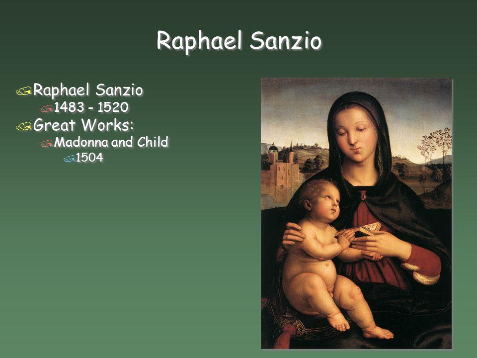 raffaello sanzio da urbino famous works