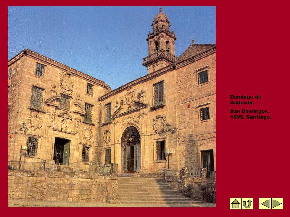 Domingo de Andrade. San Domingos. 1699. Santiago.