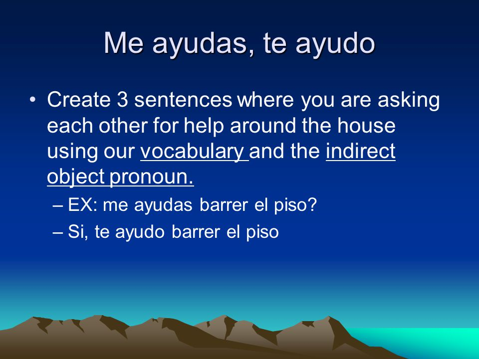 A practicar Actividad #9 pagina 324 –Fill out the appropriate direct object pronoun to complete each sentence.