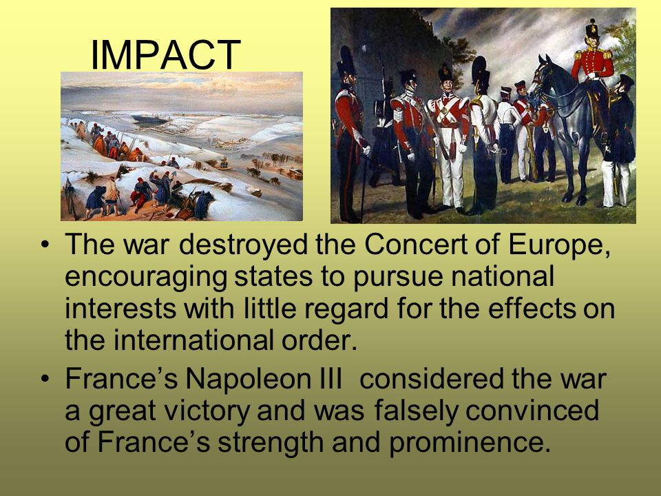 What is the Concert of Europe?