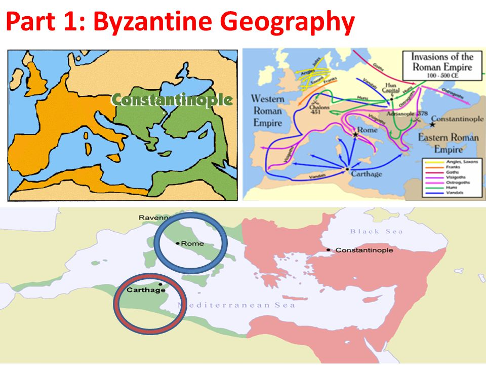 Part 1: Byzantine Geography