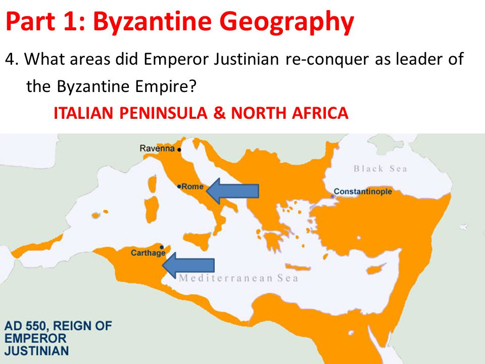 Part 1: Byzantine Geography 4.