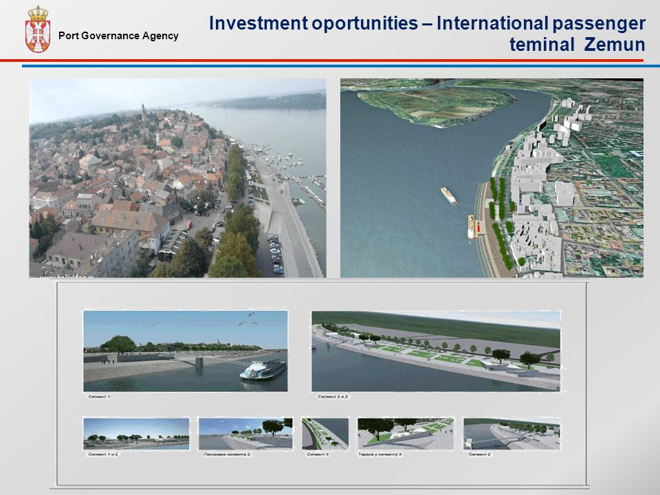 Port Governance Agency Investment oportunities – International passenger teminal Zemun