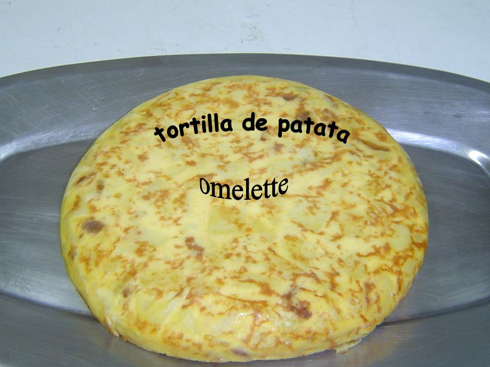 Spanish omelette A cooking workshop by the children of 3rd year.