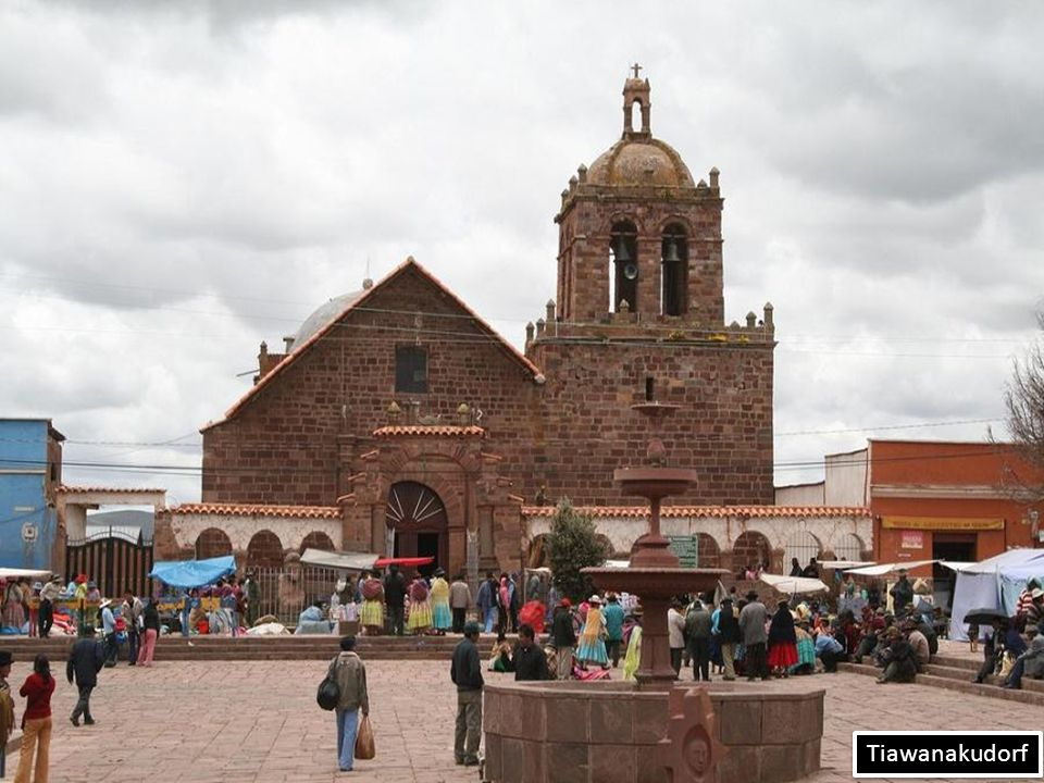 The Presedential Palace and the Cathedreal - La Paz