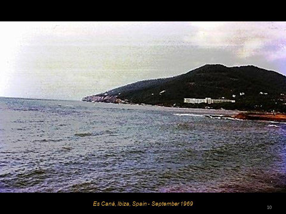 Es Caná, Ibiza, Spain - September 1969 9