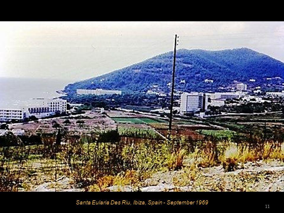 Santa Eularia Des Riu, Ibiza, Spain - September 1969 11