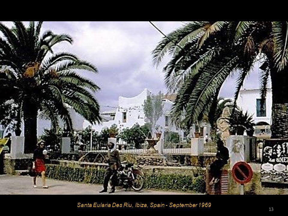 Santa Eularia Des Riu, Ibiza, Spain - September 1969 13