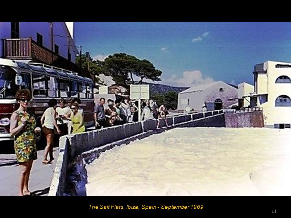 The Salt Flats, Ibiza, Spain - September 1969 14