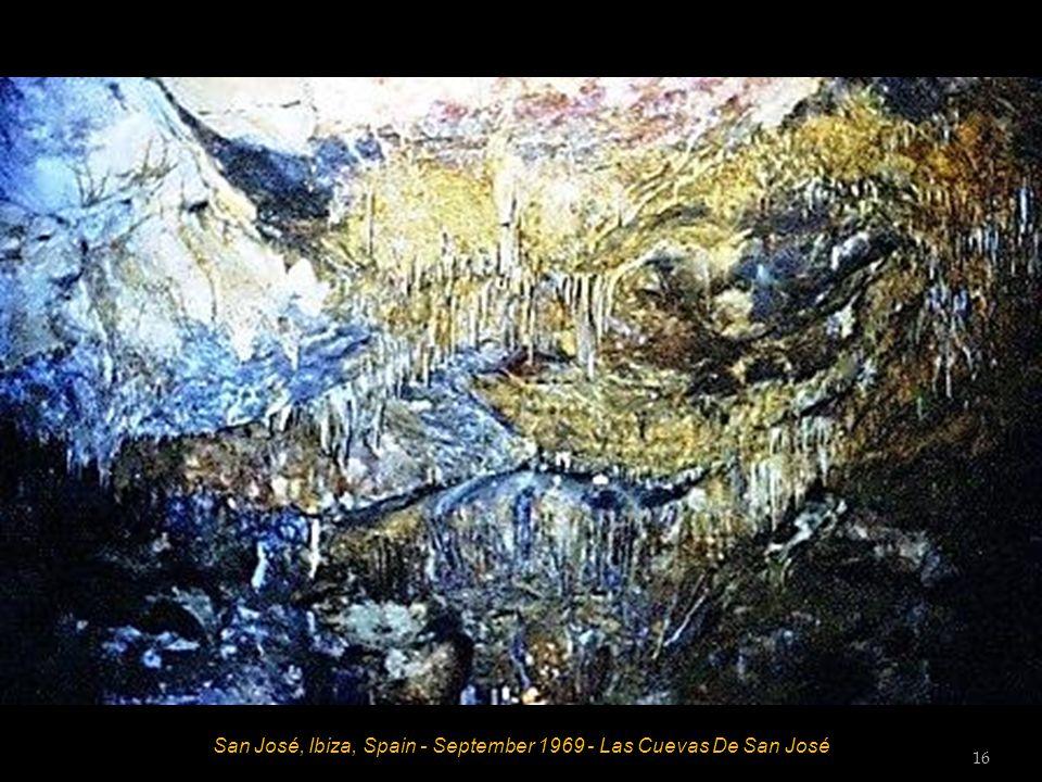 San José, Ibiza, Spain - September 1969 - Las Cuevas De San José 16