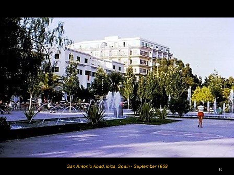 San Antonio Abad, Ibiza, Spain - September 1969 19