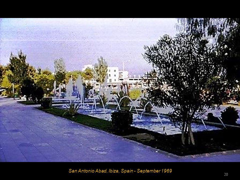 San Antonio Abad, Ibiza, Spain - September 1969 20
