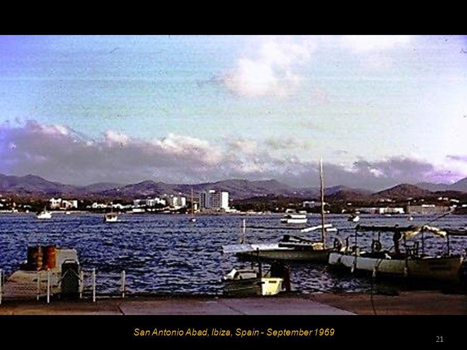 San Antonio Abad, Ibiza, Spain - September 1969 21