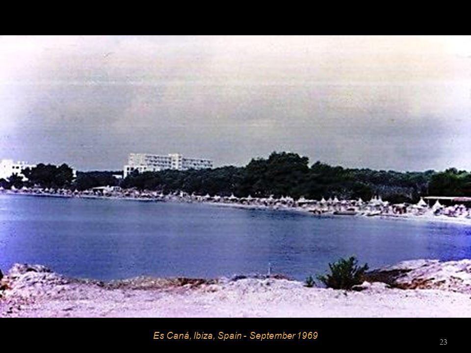 Es Caná, Ibiza, Spain - September 1969 23