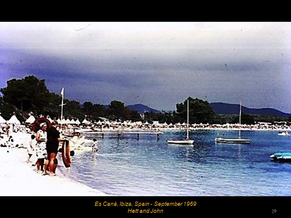 Es Caná, Ibiza, Spain - September 1969 Hett and John 29