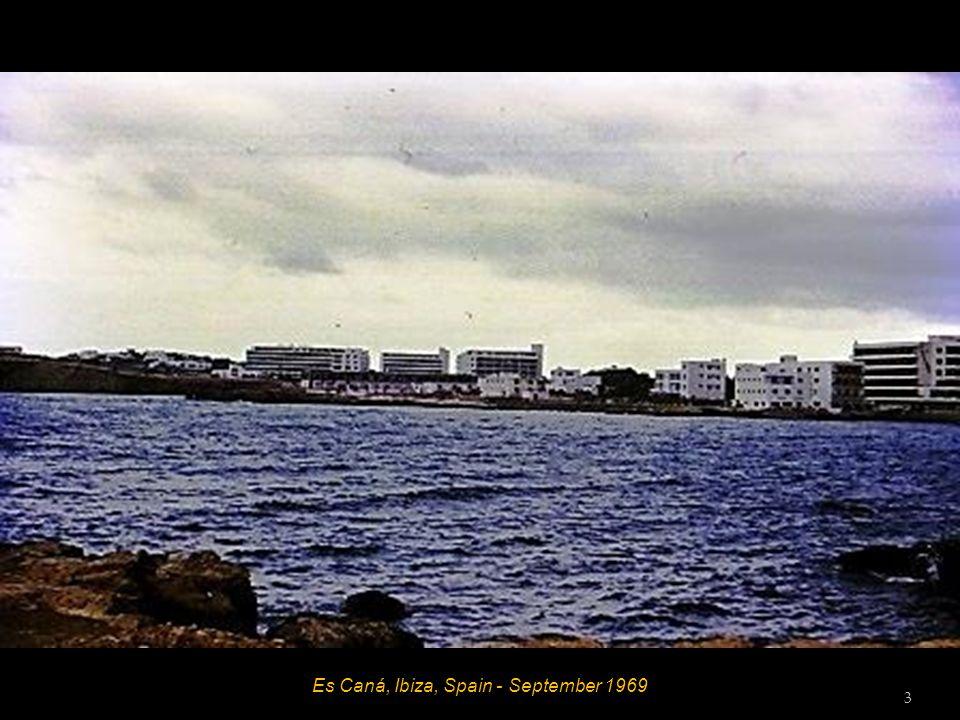 Es Caná, Ibiza, Spain - September 1969 3