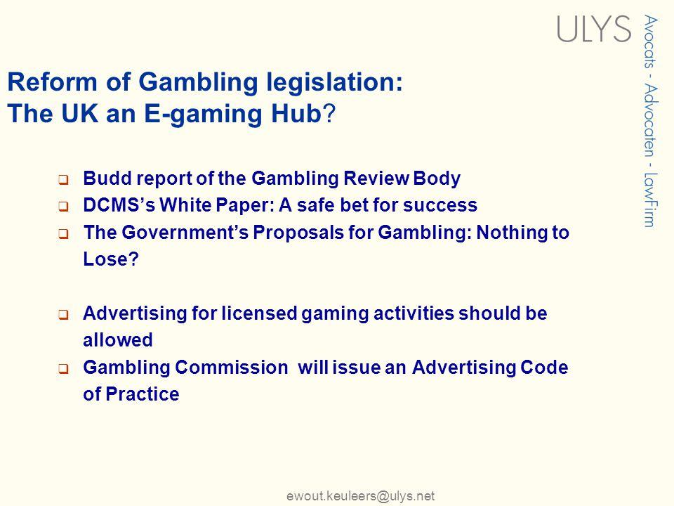 Budd report on gambling cherokee north harrah hotel casino