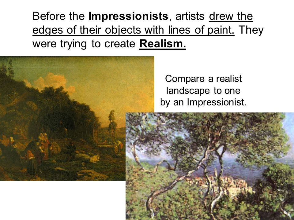 Part I - This is an introduction to the Impressionists – a group of painters in the 1800's who had a new way of seeing the world and a new way of putting that vision on the canvas.