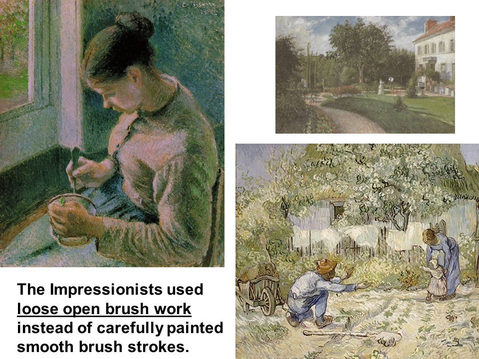 Compare a realist portrait to those by an Impressionist.