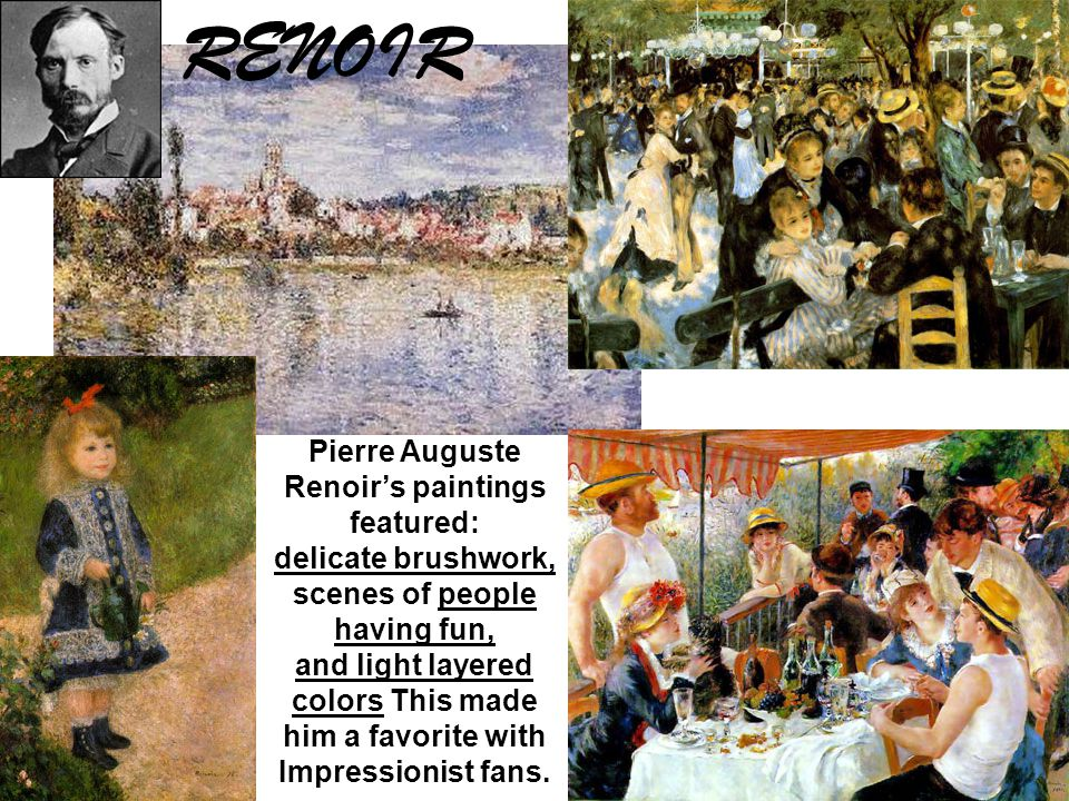 This is the painting from which the Impressionists and their movement got their name.