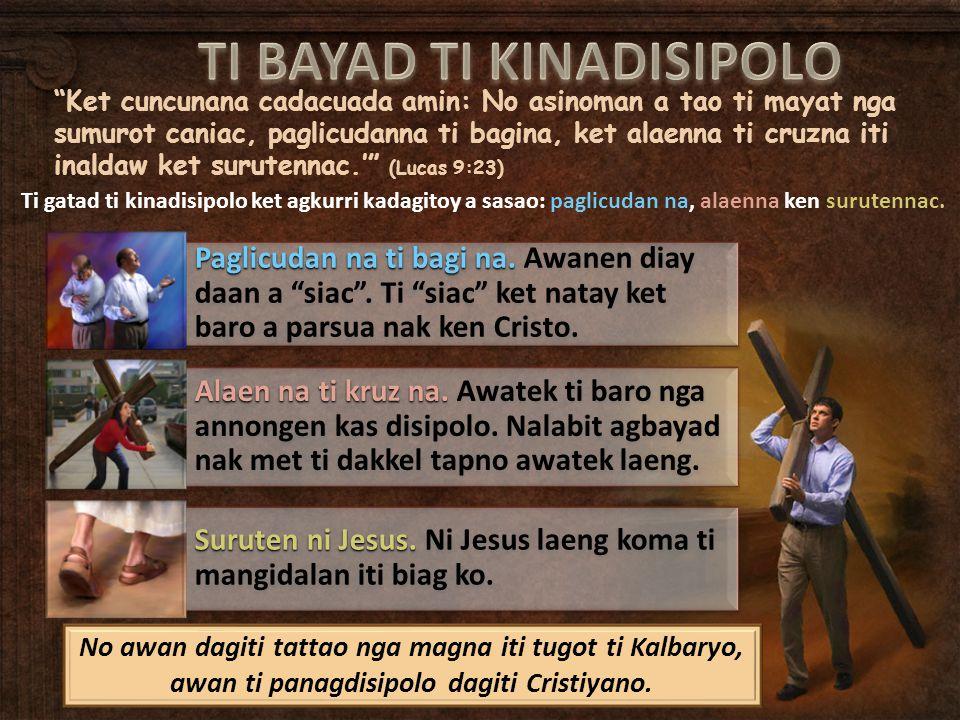 Panunoten ken bilangen ti gatad ti pannakaisalakan kadagiti agngayangay iti panagballigi.