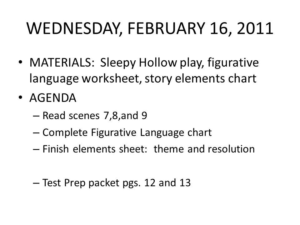 Figurative language worksheet 1 answer sheet