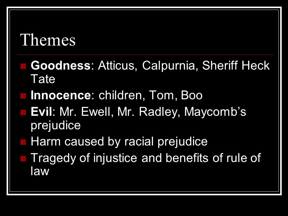 the reference of racial prejudice and injustice in the novel to kill a mockingbird
