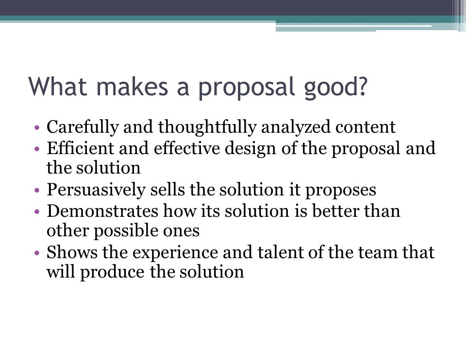 Writing Winning Proposals Why Write Proposals Work In Industry And