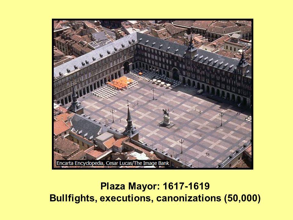 Plaza Mayor; statue of Felipe IV