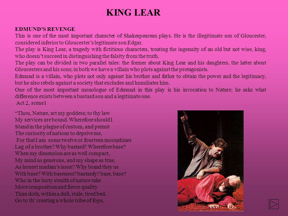 king lear and gloucester mirror images