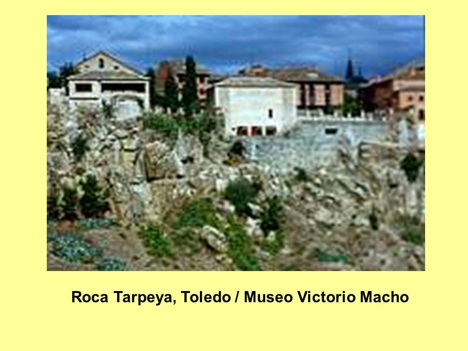 Roca Tarpeya, Toledo / Museo Victorio Macho