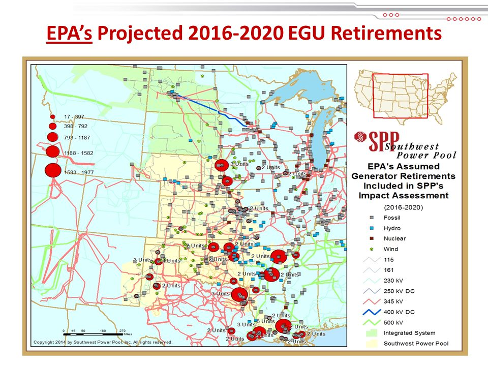 11 EPA's Projected EGU Retirements (For SPP and Select Neighboring States) *Excludes committed retirements prior to 2016 **Extracted from EPA IPM data ***THESE RETIREMENTS ARE ASSUMED BY EPA – NOT SPP!