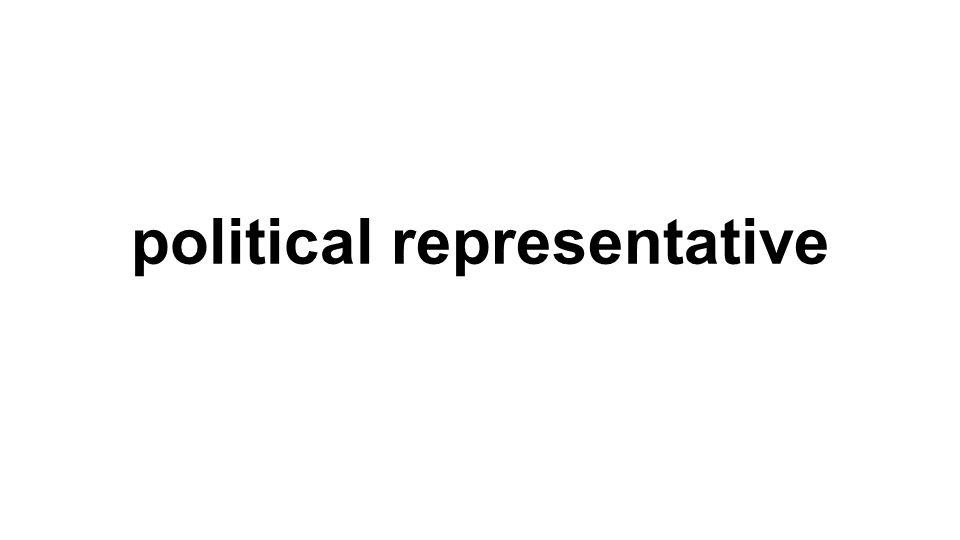 political representative