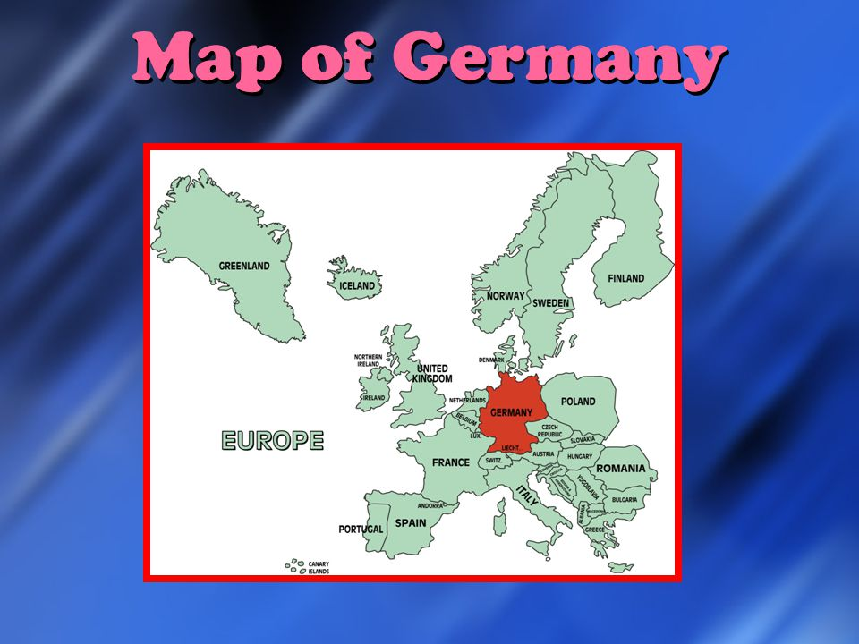 Germany Map Of Germany Germanys Flag Country Quick Facts Germany - Germany map english