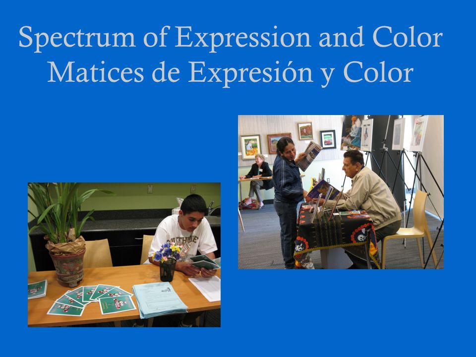 Spectrum of Expression and Color Matices de Expresión y Color