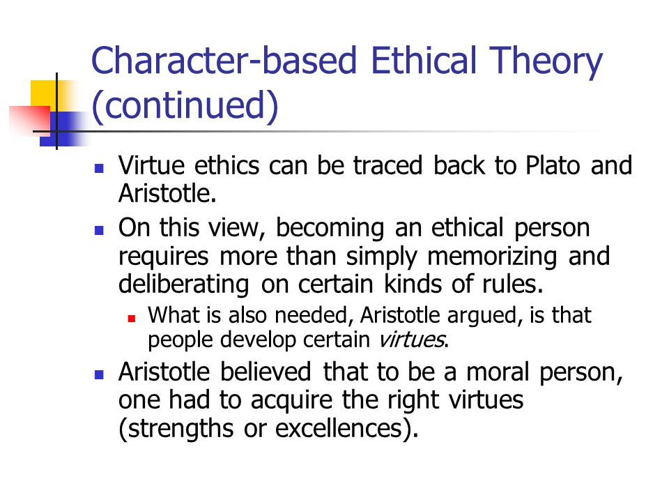 the theory of virtues of aristotle