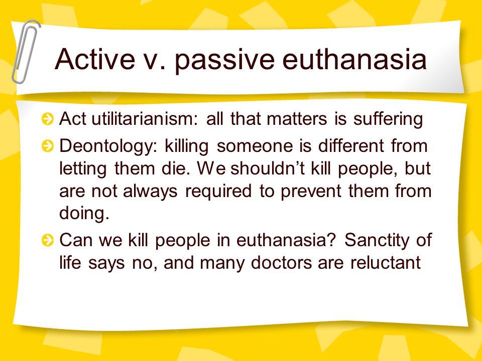 euthanasia and utilitarianism essay