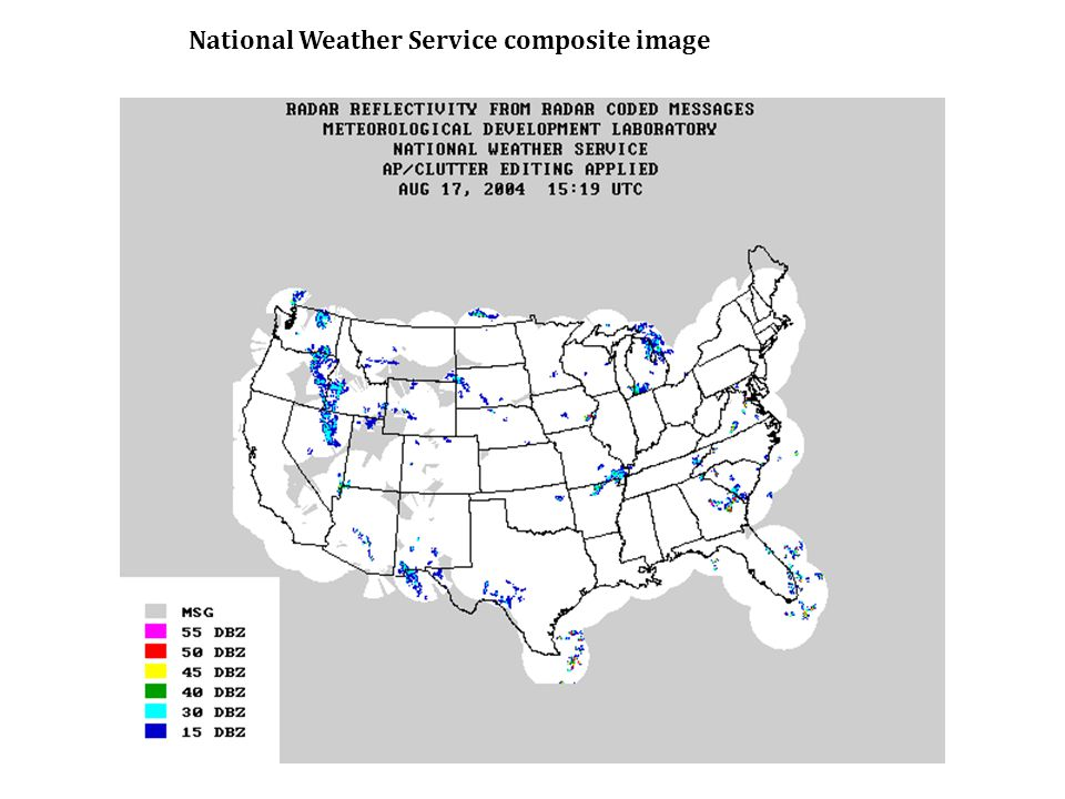 National Weather Service composite image