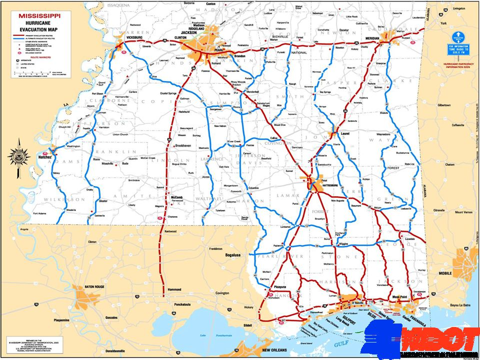 MISSISSIPPI CONTRAFLOW OPERATIONS Providing the State of Louisiana