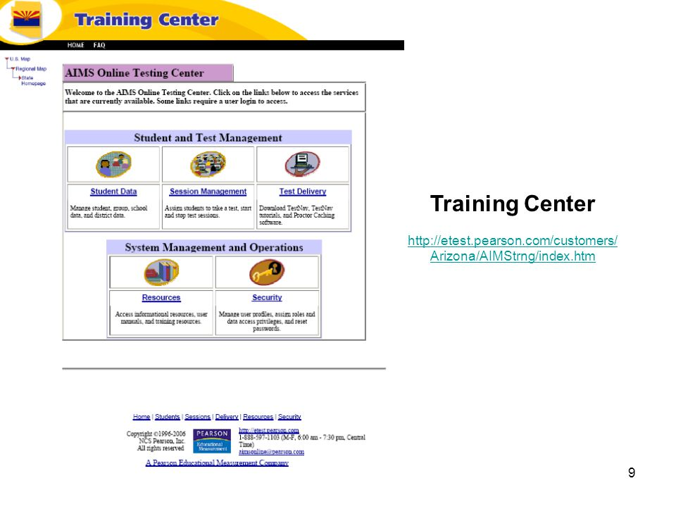 9 Training Center   Arizona/AIMStrng/index.htm