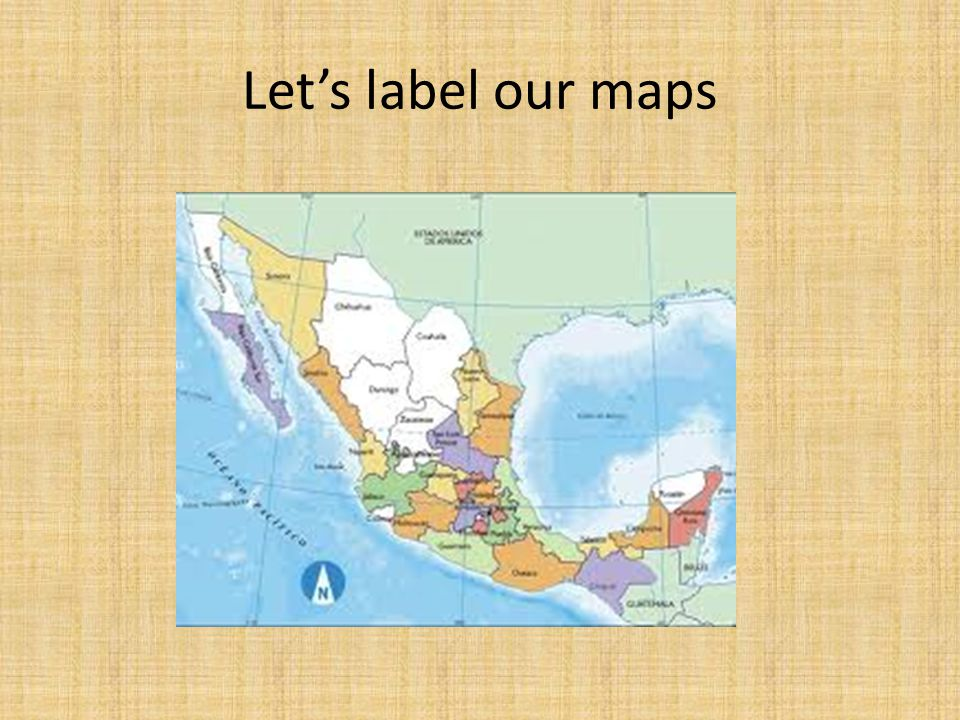 Let's label our maps